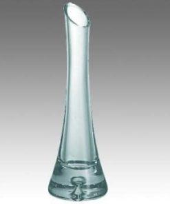 Blomstervase glas til en blomst ( H.21cm)