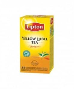 lipton yellow label te