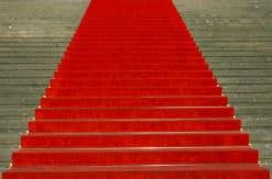 Rød løber