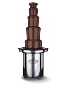 Chokoladefontæne EKSTRA STOR op til 600 personer inkl. 15kg chokolade