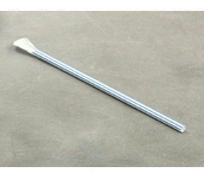 Sugerør m/blå striber og spade til Slush-ice 200 stk. BTF 2