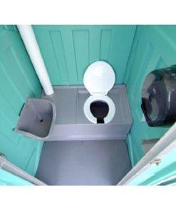 mobiltoilet med vask