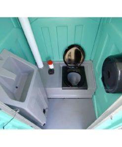 luksus mobiltoilet med vask