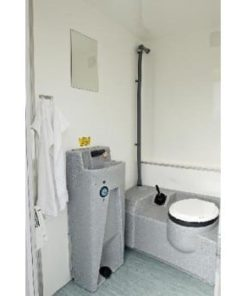 VIP Toilet m/2 særskildte toiletter L:360cm.B:220cm.H:280cm