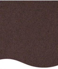 messetæppe mørkebrun