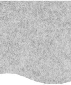 messetæppe lysegrå meleret