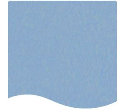 messetæppe pastelblå