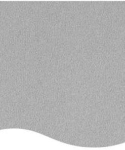 messetæppe sølvgrå