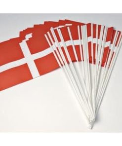dannebrogsflag i plastik
