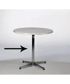 SØJLE, lav, H: 50 cm til Ø: 80 cm eller Ø: 120 cm bord