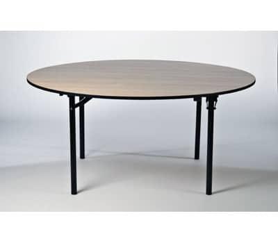 Rundt bord (Ø: 160 cm) klapstel (8-10 pax)