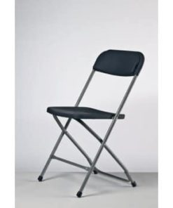 grå klapstol