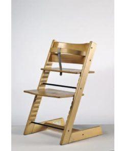 triptrap stol til børn i træ