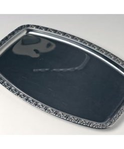 Royal sølvfad, ovalt (47 cm)