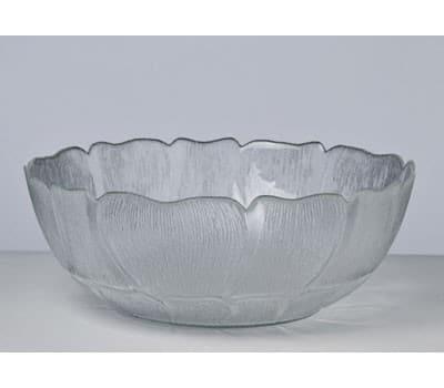 Salatskål i glas - lille (18 cm) 2