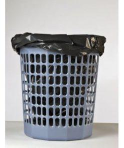 Affaldsspand i blå plast (100 liter)