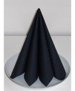 Køb servietter sort