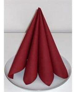 Køb røde servietter - Festudlejning - Lyngby