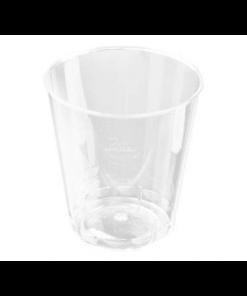 plastik snapseglas