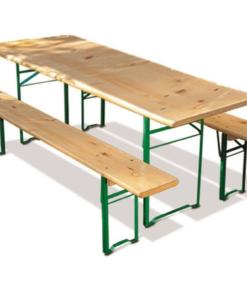 bord/bænke sæt 220x60 cm